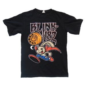 Anvil blink 182 tour band t shirt small